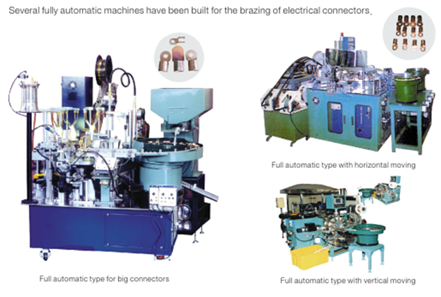 Electrical connectors full automatic brazing machines.png