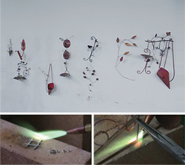Brazing metal art education1
